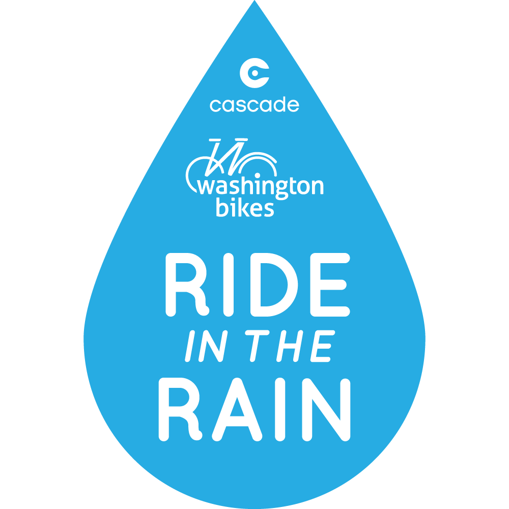 Ride in the Rain Challenge logo