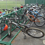 It's all about the bike rack