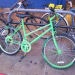 Green Bikes Invade West Seattle