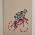 The Beloved Bicycle–Elevated to Art Form for First Thursdays