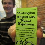 Washington Bicycle Law Pocket Reference: Don't leave home without it!