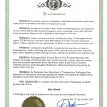 Governor Inslee Proclaims May Bike Month in Washington State!