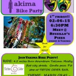 Yakima Bikes and Walks Rolls Monthly With Its Bike Party