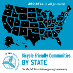 Five Washington Communities Earn Bicycle Friendly Status