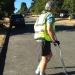 Walk a Block on My Crutches