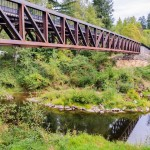 Two New Willapa Hills Trail Bridges Now Open